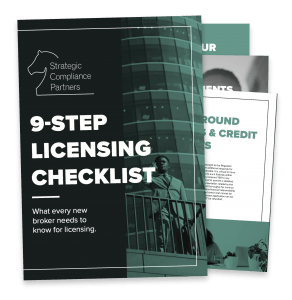 9-step licensing checklist for new mortgage brokers